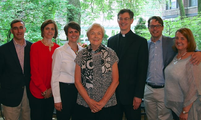 Fr. Paulson with his family
