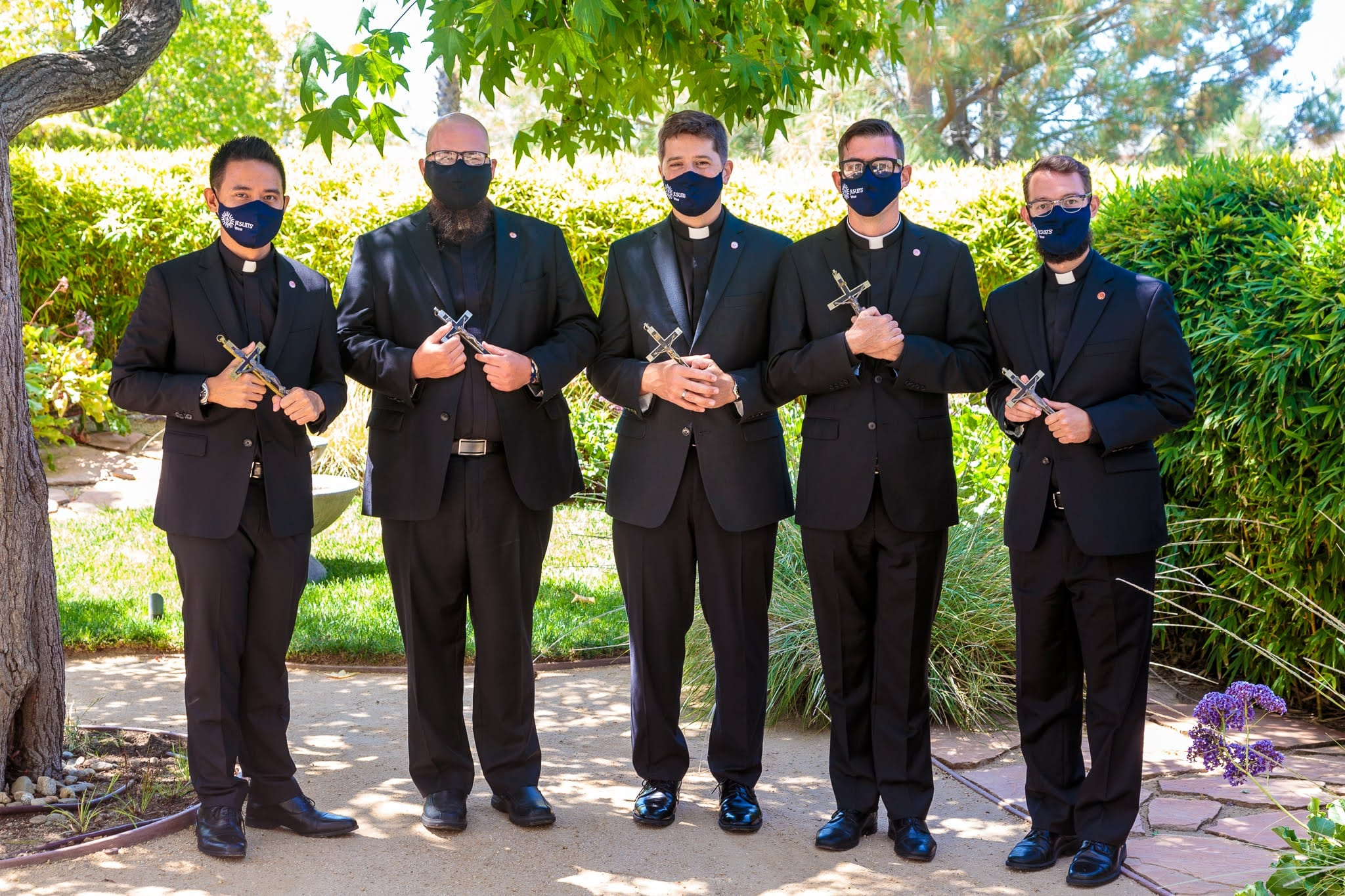 2020 First Vows Culver City with masks