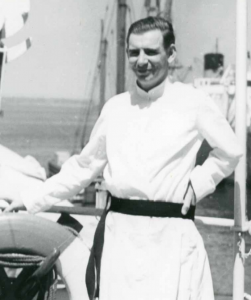A young Lloyd Lorio, SJ, yearned to serve in the missions in Ceylon.