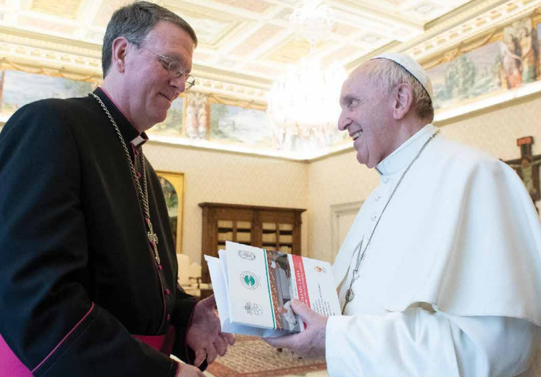 Father Anthony Corcoran, SJ, was among the Church leaders who met with Pope Francis in an ad limina visit